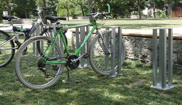 3lü bisiklet park demiri