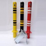 Heavy Duty Retractable Parking Bollard 07