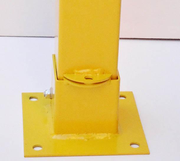 padlock or barrier